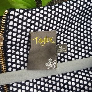 Taylor Dresses - Taylor black and white dress